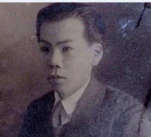数学担当の林宗男先生 (写真は柳沢正良様提供)