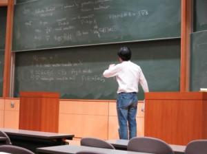 中島啓教授(京都大学)