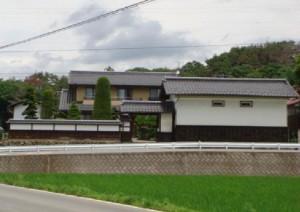 小林家が昭和20年にお世話になった柳沢金次郎様宅 (柳沢信義様提供)